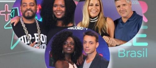 """Finalistas da segunda temporada do """"Power Couple Brasil"""""""