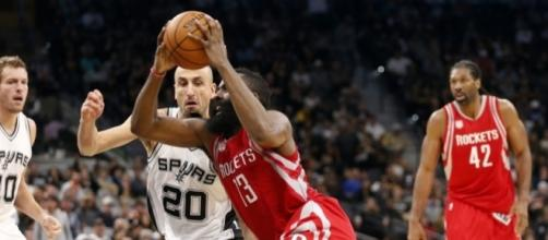 Ginobili wins game 5 for Spurs with blocked shot on Harden - spacecityscoop.com
