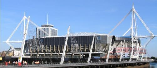 Il Millennium Stadium di Cardiff che ospiterà la finale di Champions League