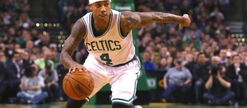 Isaiah Thomas and the Celtics will try to regain control of their series vs. the Wizards on Wednesday. [Image via Blasting News image library/bet.com]