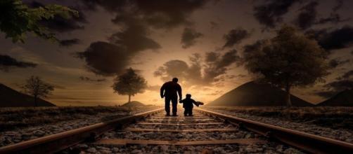 Los hombres que son padres y madres
