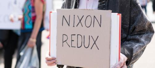 nixon/trump photo credit: victoria pickering
