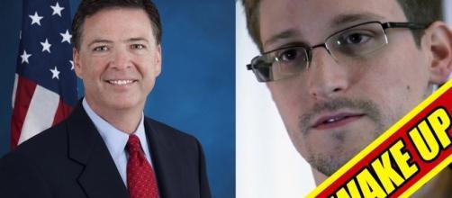 Snowden slammed Trump for firing FBI Director James Comey (Up Wake/YouTube)