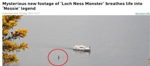 Suposto monstro do lago Ness viraliza na imprensa (Rob Jones)