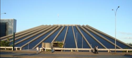 Teatro Nacional - sede da Secretaria de Cultura do DF