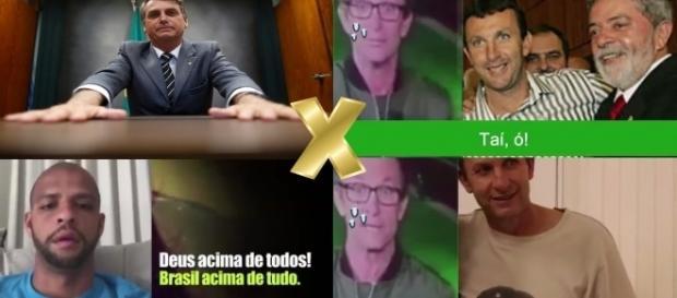 Bolsonaro 'estraçalha' Neto, comentarista da Rede Bandeirantes.