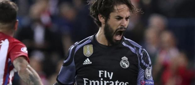 Isco fez o gol que esfriou a reação do Atlético
