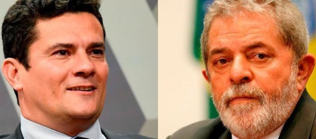 Lula ficará frente a frente com Sérgio Moro