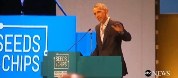 Standing ovation ieri per Obama ospite a Milano per il Global food innovation Summit