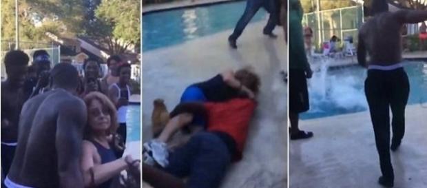 Vídeo de senhora sendo agredida viraliza na internet.