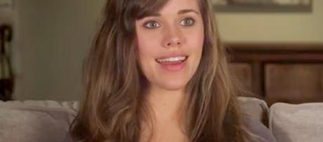 Jessa Duggar screen grab from TLC