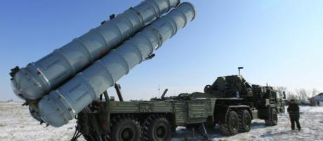 Sistema de defesa antiaéreo russo S-400