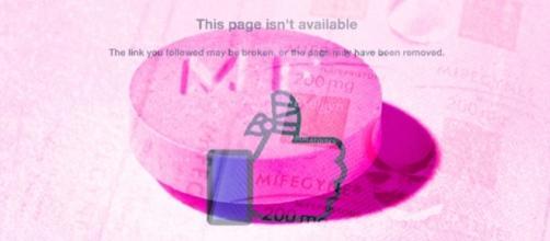 Facebook e il caso della pagina 'Women on Web'.