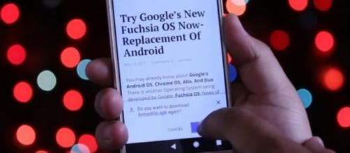 Google's Fuchsia OS, Youtube, Passion Labz channel https://www.youtube.com/watch?v=9rS3OKP5dE0