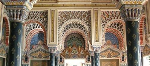 La Sala dei Gigli al Castello di Sammezzano