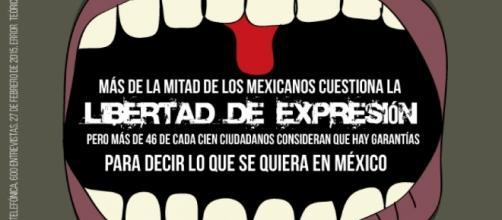 Libertad de expresión en México, en entredicho .