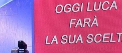 Il tronista Luca Onestini si avvia verso la scelta a Uomini e Donne