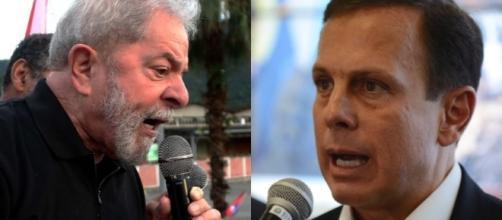 No fim de semana, Lula e Doria trocaram ataques sobre quem ... - com.br