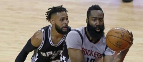 Shorthanded Spurs stun Rockets 114-75 to advance to West finals ... - expressnews.com