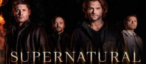 Supernatural tv show logo image via Flickr.com