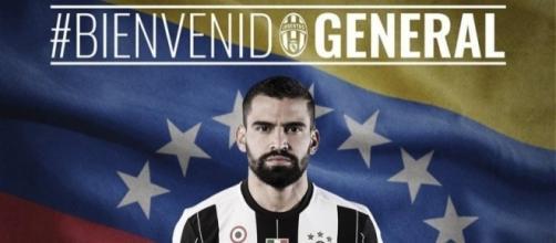 Tomás Rincón es nuevo refuerzo de Juventus.