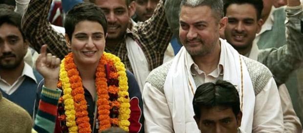 A still from Aamir Khan's 'Dangal' movie