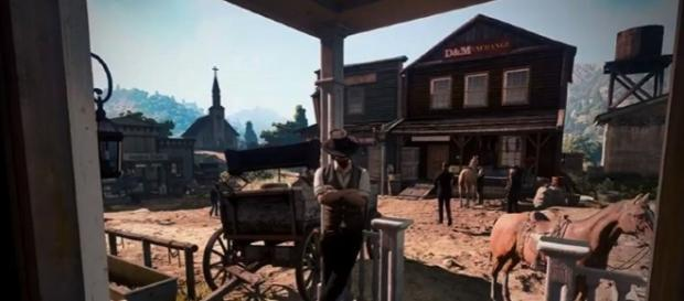 An alleged 'Red Dead Redemption 2' screenshot has found its way on the web (Silentc0re/YouTube)