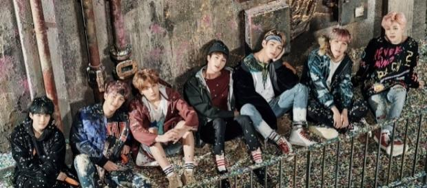 "BTS ""You Never Walk Alone"" Group Shot"