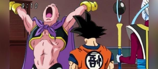 En este capítulo Goku recibirá la terrible noticia de Majin Boo.