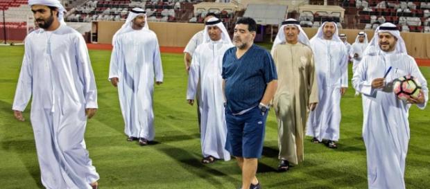 Medios locales difundieron la llegada del jugador