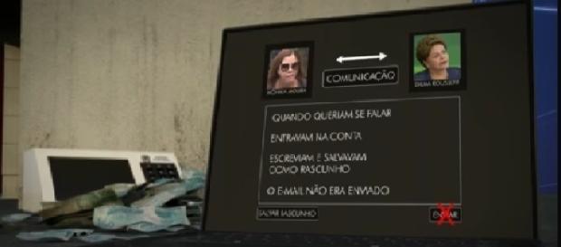 Mônica Moura falava com a ex-presidente Dilma Rousseff por meio de e-mails fictícios