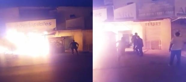 Policial salvou 20 pessoas de prédio em chamas