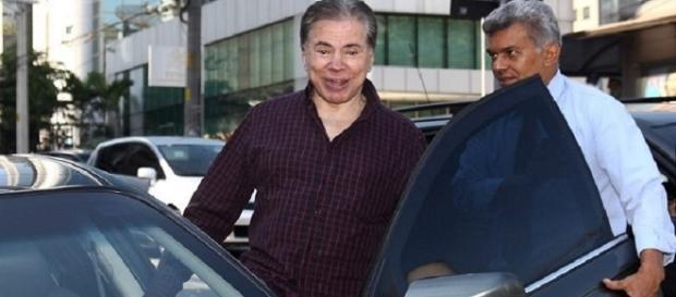 Sílvio Santos quase ignorou o acidente