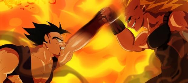 Ultimate Gohan vs Super Saiyan 3 Kosho by opunu on DeviantArt - deviantart.com