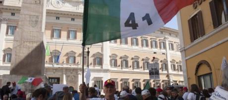 Ultimissime novità al 12 maggio 2017 sulle pensioni precoci e Od, manifestazine in piazza un successo
