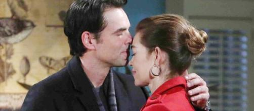 Billy and Victoria rom 'The Young and the Restless. Soapssheknows.com