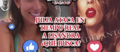 El cruel ataque de Julia a Lisandra por las redes