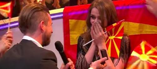 Eurovision Song Contest 2017: proposta di matrimonio in diretta per la Macedonia