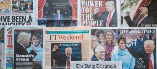 How the world's newspapers reacted to Donald Trump being sworn in - thesun.co.uk