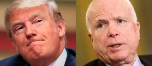 John McCain is not affraid to challenge the President - Image-go.com