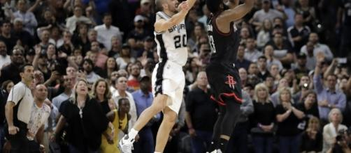 NBA playoffs 2017 Manu Ginobili saves Spurs on Throwback Tuesday ... - nhely.hu