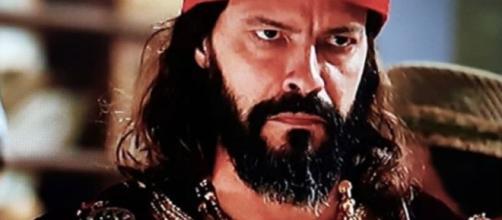 O palácio de Nabucodonosor será invadido por um demônio (Foto: Reprodução/Record TV)