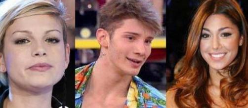 Stefano, Emma e Belen: novità sul trio