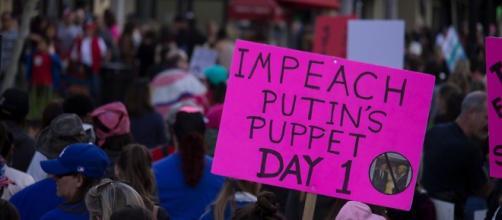 """Women's March Santa Ana Impeach"" Photography by Maria Reverberi"