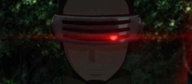Boruto, Shikadai and Mitsuki will have to knock out the sense out of Shino to release him from the influence of the dark aura. - aminoapps.com