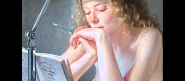 Pintura artística de Francine Van Hove.