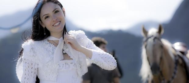 Isabelle Drummond como Anna em Novo Mundo (Foto: Divulgação)