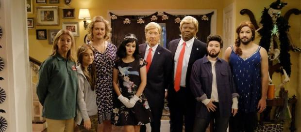 Tim Allen dressed up as Donald Trump ... - hollywoodreporter.com