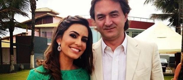 Ticiane Villas Boas é casada com Joesley Batista, sócio da JBS