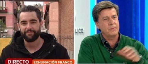 Dani Mateo y Cayetano Martínez de Irujo en Espejo Público